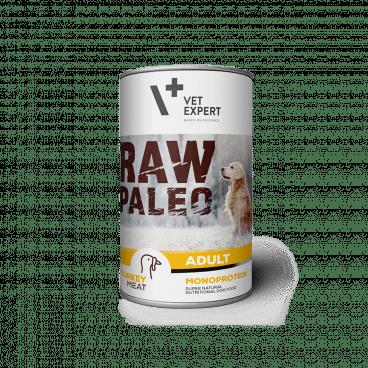 konservai šunims - konservai šunims su kalakutiena - Raw Paleo 202719