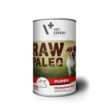 konservai šunims - konservai šuniukams su jautiena - Raw Paleo 202757