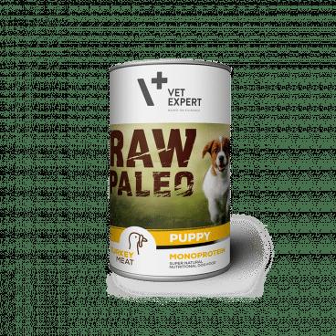 konservai šunims - konservai šuniukams su kalakutiena - Raw Paleo 202726