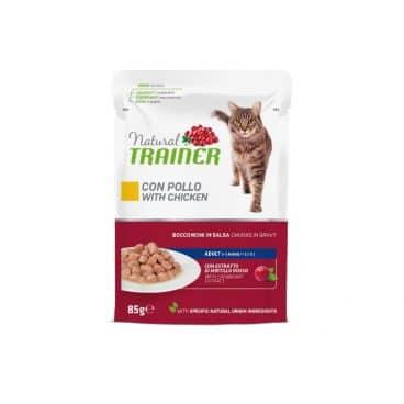 925713 Natural traines katėms - konservai katėms - guliašas katėms su vištiena