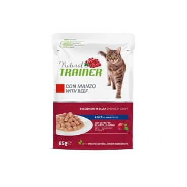 925715 Natural Trainer konservai katems - guliašas katėms - guliašas katėms su jautiena