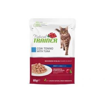 925716 Natural Trainer katėms su tunu - konservai katėms su tunu - guliašas katėms su tunu