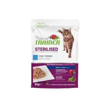 925723 Natural Trainer katėms su tunu - konservai katėms su tunu - guliašas katėms su tunu