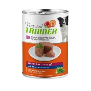 925947 Natural Trainer - Konservai Šunims - Konservai šunims su kumpiu