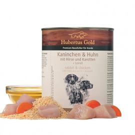 110236 konservai šunims Hubertus Gold - konservai šunims su vištiena ir triušiena - konservai šunims