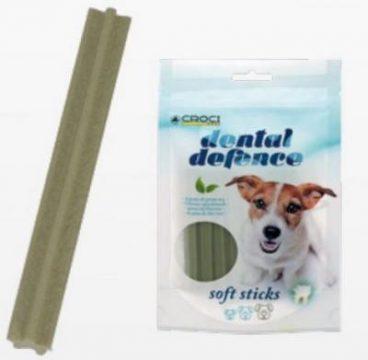 CROCI DENTAL DEFENCE - Lazdelės su žalia arbata šunims - skanėstai šunims