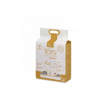 kraikas katems - granulės kačiu tualetams - velver paw tofu